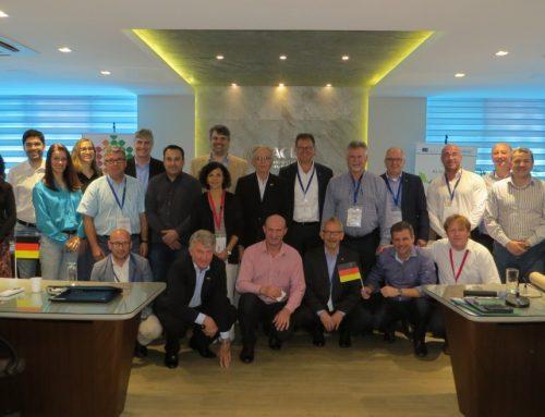 Facisc Online: Encontro de negócios com alemães, parceria fortalecida, reunião plenária e outras notícias do Sistema Facisc